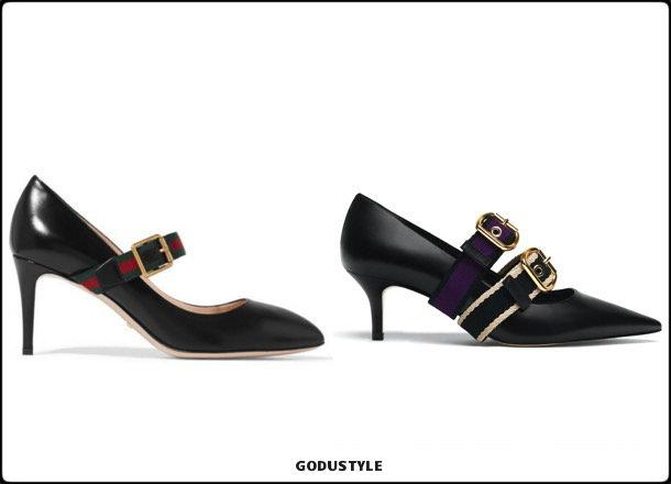 gucci, shoes, uterque, spring 2018, trend, zapatos, clon, verano 2018, looks, streetstyle, shopping