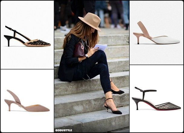kitten heels, slingback, mules, spring 2018, trend, zapatos, tendencia, verano 2018, looks, streetstyle, shopping