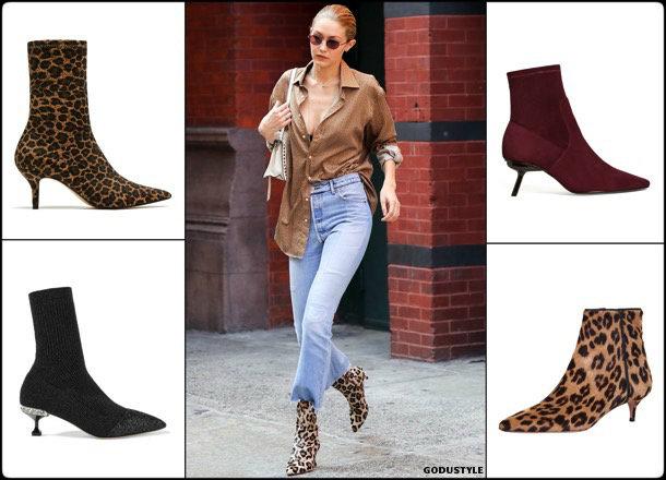 kitten heels, boots, booties, spring 2018, trend, zapatos, tendencia, verano 2018, looks, streetstyle, shopping