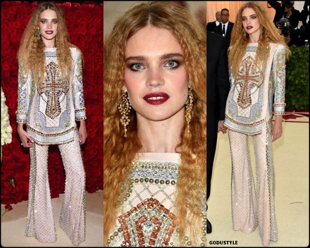 natalia vodianova, met 2018, gala, fashion, celebrity, look, style, details, celebrities, outfits, red carpet