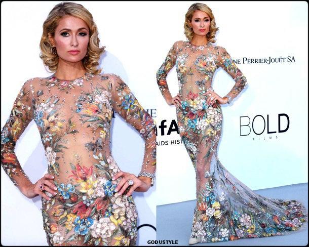 paris hilton, fashion, looks, amfar, cannes 2018, style, party dresses, details, red carpets, celebrities, outfits