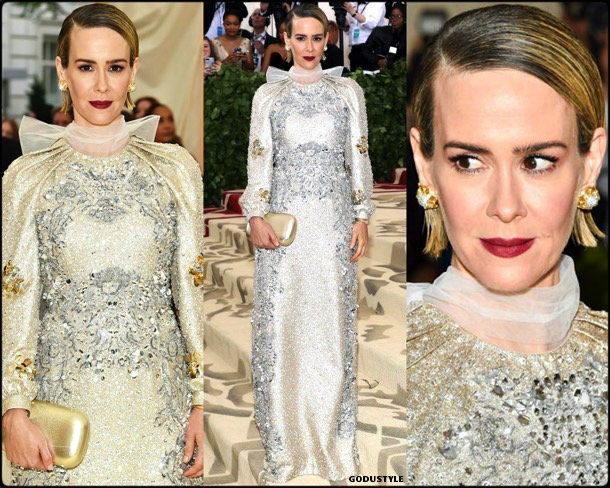 sarah-paulson-gala-met-2018-fashion-look-style-details-godustyle