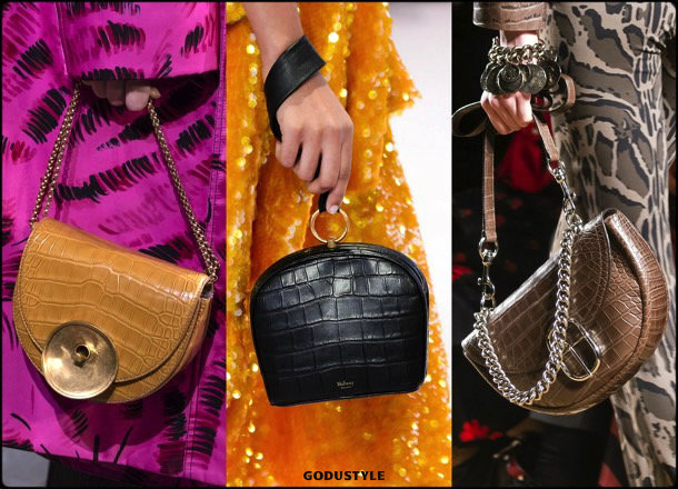 crocodile, bags, shoes, fall 2018, trends, mfw, bolsos, zapatos, tendencia, invierno 2018, looks, details