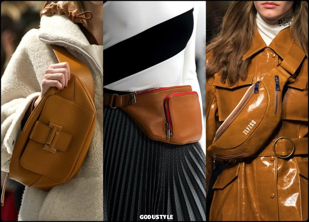 fanny pack, bags, shoes, fall 2018, trends, mfw, bolsos, zapatos, tendencia, invierno 2018, looks, details