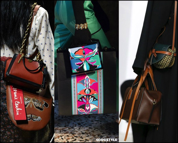 multiple, bags, shoes, fall 2018, trends, mfw, bolsos, zapatos, tendencia, invierno 2018, looks, details