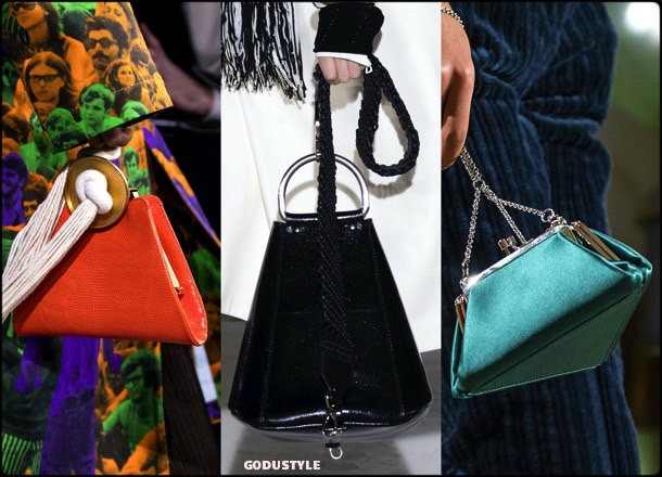 pyramids, bags, shoes, fall 2018, trends, mfw, bolsos, zapatos, tendencia, invierno 2018, looks, details