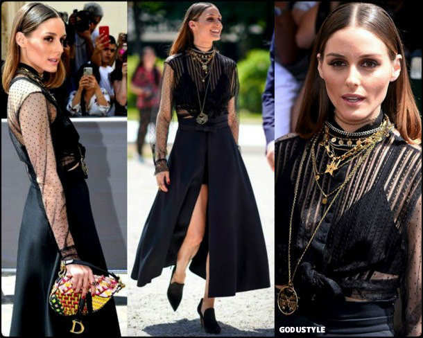 olivia palermo, looks, street style, christian dior, couture, fall 2019, style, details, shopping, outfits, fashion weeks