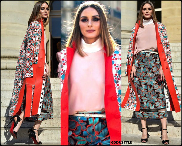 olivia palermo, looks, street style, fendi, couture, fall 2019, style, details, shopping, outfits, fashion weeks