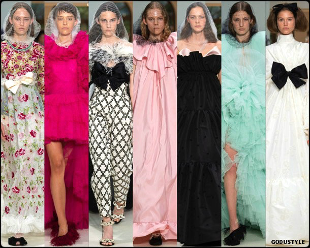 giambattista valli, couture, fall 2018, looks, style, details, haute couture, alta costura, otoño 2018, shoes, beauty look
