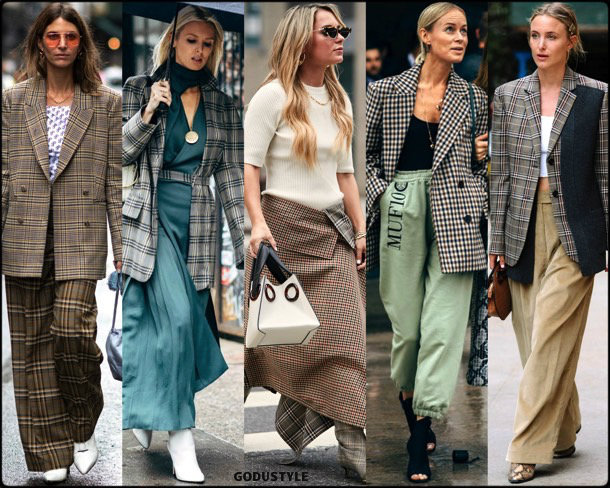 check print, trends, fall 2018, street style, nyfw, spring 2019, looks, style, details, otoño 2019, moda, must-haves