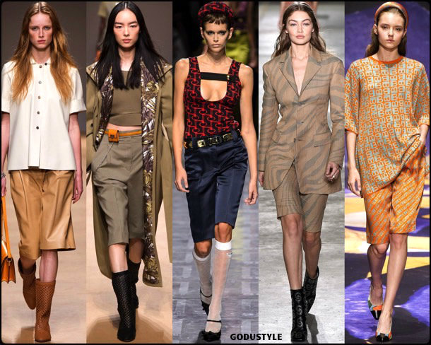 bermuda, shorts, spring 2019, trends, verano 2019, tendencias, mfw, looks, style, details, moda, fashion