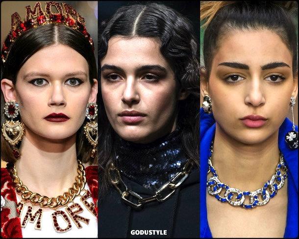 necklaces, collares, cadenas, jewelry, fall 2018, winter 2019, joyas, otoño 2018, invierno 2019, trends, tendencias