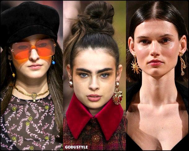 earrings, pendientes, jewelry, fall 2018, winter 2019, joyas, otoño 2018, invierno 2019, trends, tendencias, look