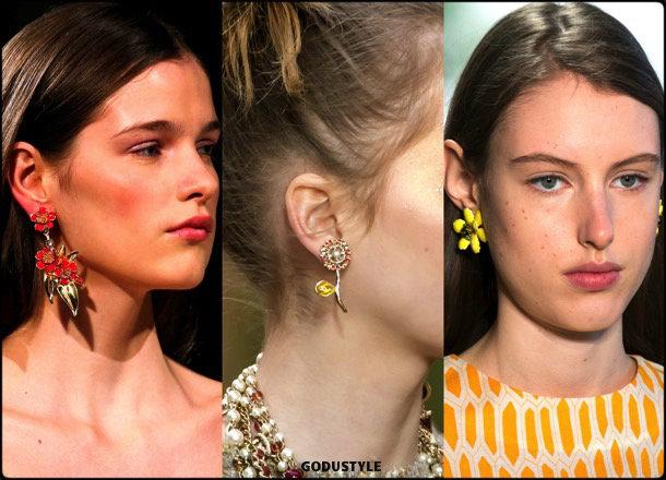 flowers, earrings, flores, jewelry, joyas, fall 2018, winter 2019, otoño 2018, invierno 2019, trends, tendencias