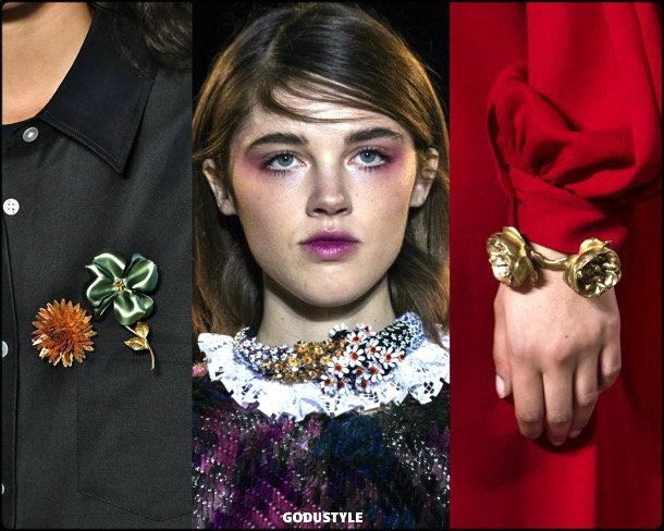 flowers, flores, jewelry, joyas, fall 2018, winter 2019, otoño 2018, invierno 2019, trends, tendencias, style