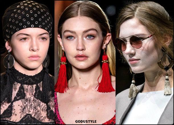tassel, earrings, pendientes, borlas, jewelry, joyas, fall 2018, winter 2019, otoño 2018, invierno 2019, trends, tendencias