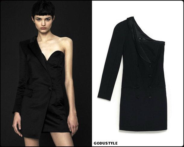 zara, vestido tuxedo, trend, tendencia, vestido fiesta, party dress, shopping, look, style