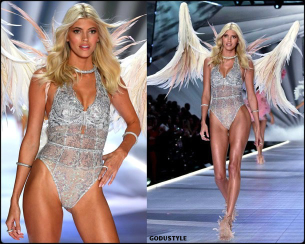 devon windsor, victorias secret, 2018, fashion show, desfile, victorias secret 2018, models, look, style, details