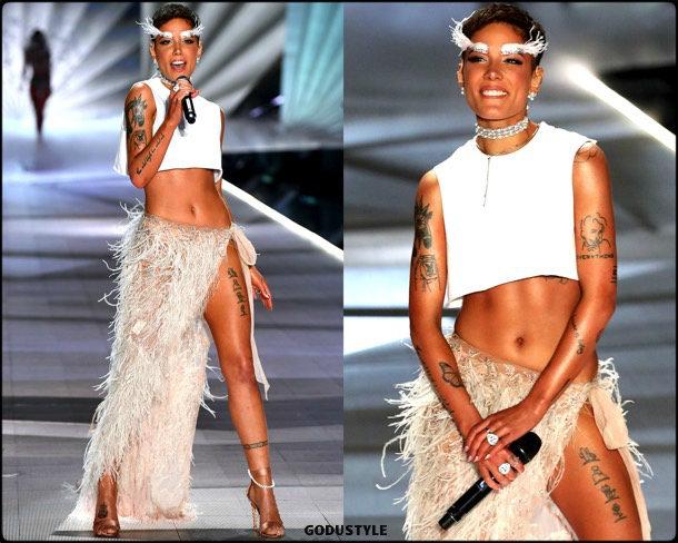 halsey, victorias secret, 2018, fashion show, desfile, victorias secret 2018, models, look, style, details