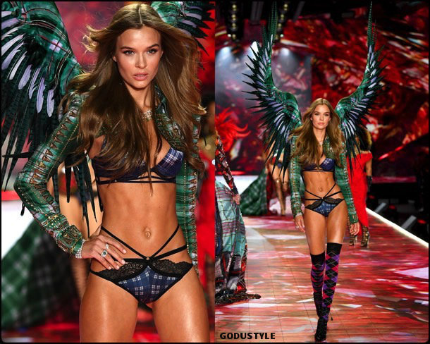 josephine skriver, victorias secret, 2018, fashion show, desfile, victorias secret 2018, models, look, style, details