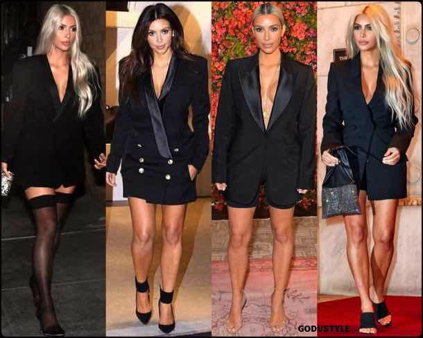 kim kardashian, vestido tuxedo, trend, tendencia, vestido fiesta, party dress, shopping, look, style