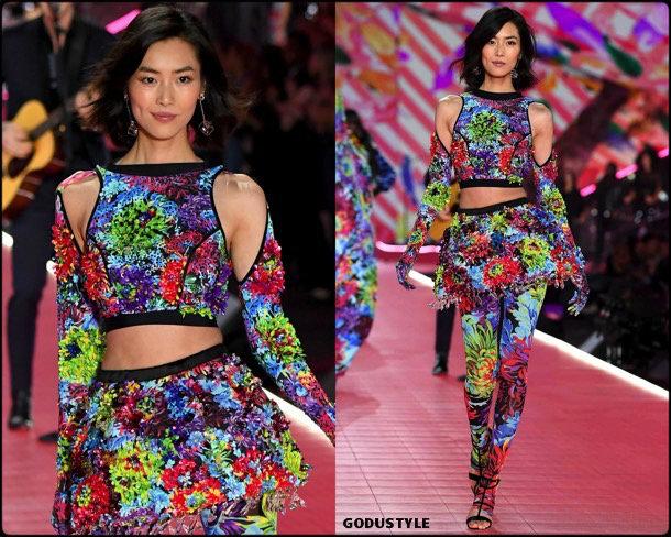 liu wen, victorias secret, 2018, fashion show, desfile, victorias secret 2018, models, look, style, details