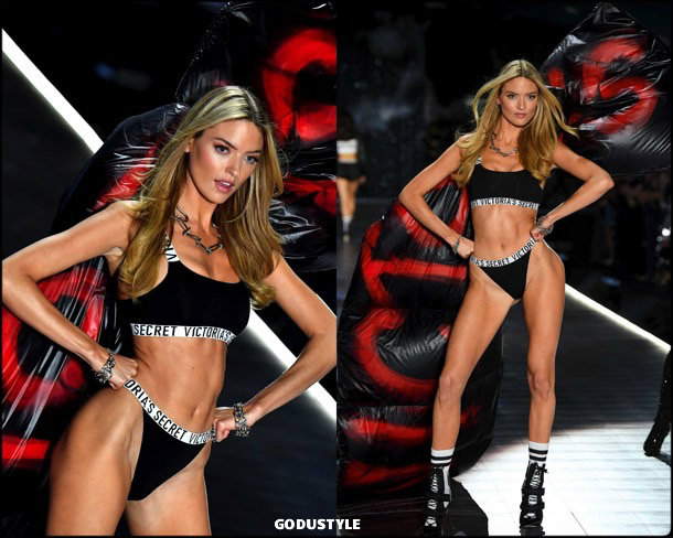 martha hunt, victorias secret, 2018, fashion show, desfile, victorias secret 2018, models, look, style, details