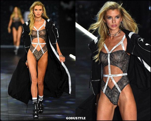 stella maxwell, victorias secret, 2018, fashion show, desfile, victorias secret 2018, models, look, style, details