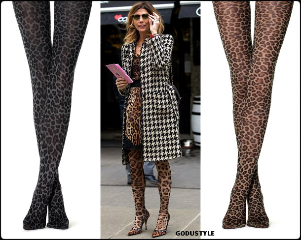 tights, medias, animal print, fall 2018, invierno 2019, looks, tendencias, trends, style, shopping