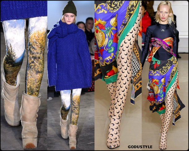 tights, medias, printed tights, estampadas, fall 2018, invierno 2019, looks, tendencias, trends, style, shopping