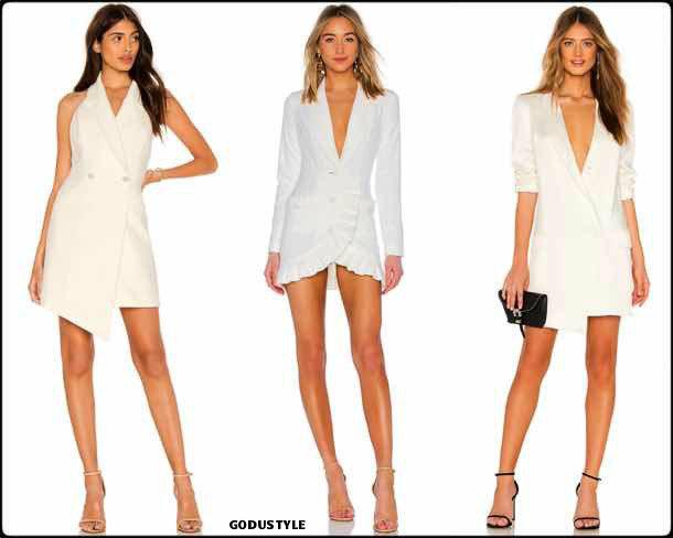 tuxedo dress, white, vestido tuxedo, trend, tendencia, vestido fiesta, party dress, shopping, look, style
