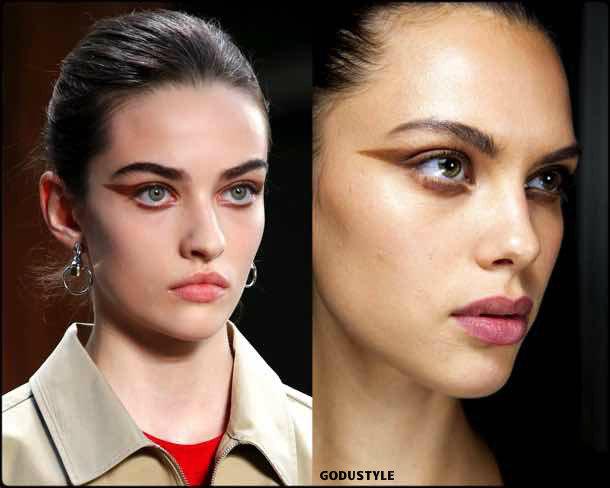 burberry, beauty, belleza, beauty look, makeup, party, look, spring 2018, trends, verano 2018, tendencias
