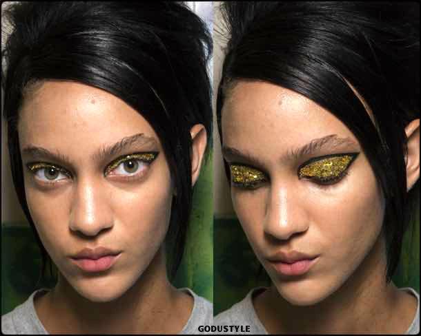 halpern, beauty, belleza, beauty look, makeup, party, look, spring 2018, trends, verano 2018, tendencias