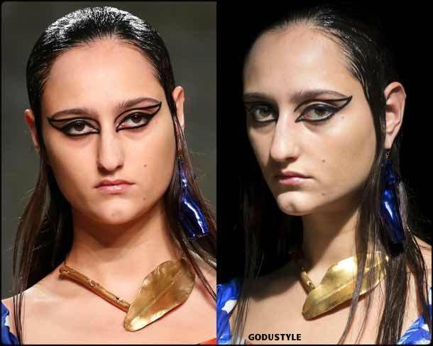 marni, beauty, belleza, beauty look, makeup, party, look, spring 2018, trends, verano 2018, tendencias