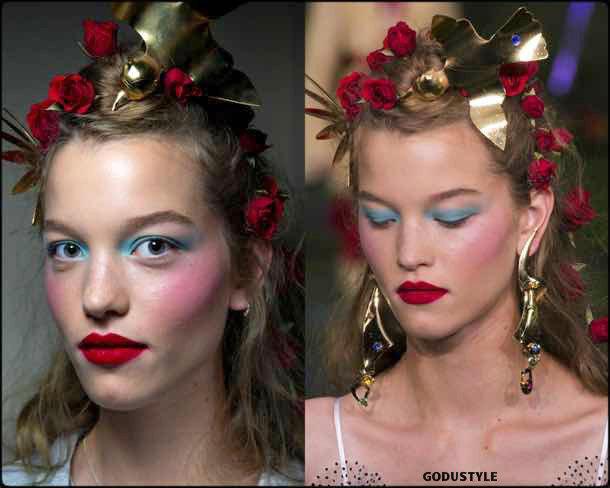 rodarte, beauty, belleza, beauty look, makeup, party, look, spring 2018, trends, verano 2018, tendencias