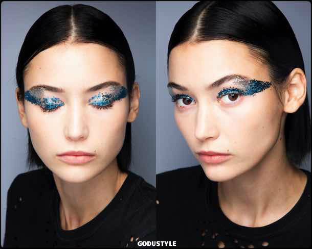 tadashi shoji, beauty, belleza, beauty look, makeup, party, look, spring 2018, trends, verano 2018, tendencias
