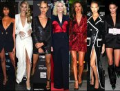 celebrities, vestido tuxedo, tuxedo dress, trend, tendencia, vestido fiesta, party dress, shopping, look