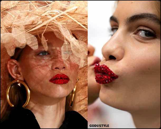 valentino, beauty, belleza, beauty look, makeup, party, look, spring 2018, trends, verano 2018, tendencias