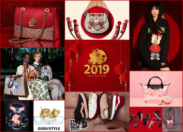 fashion, chinese new year, pig year, capsule collection, shopping, 2019, collection, look, style