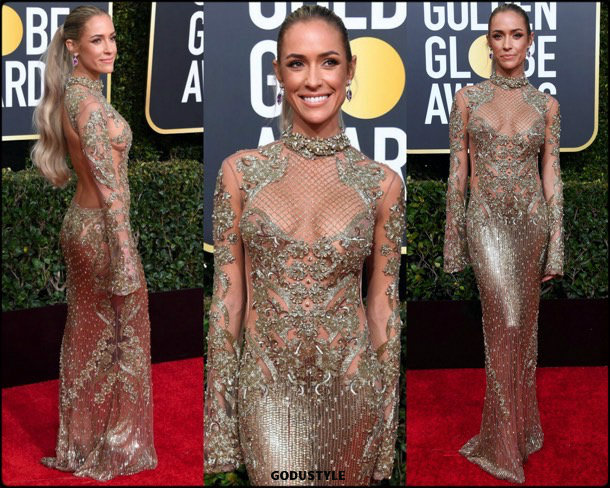 kristin cavallari, golden globes, party, looks 2019, red carpets, looks, style, details, fashion, globos oro