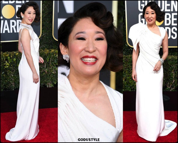 sandra-oh-golden-globes-2019-look-globos-oro-style-details-godustyle