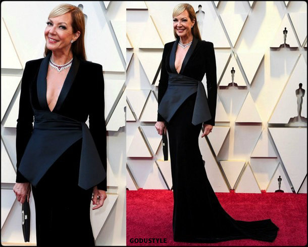 allison-janney-oscars-2019-red-carpet-best-dressed-look-style-details-godustyle