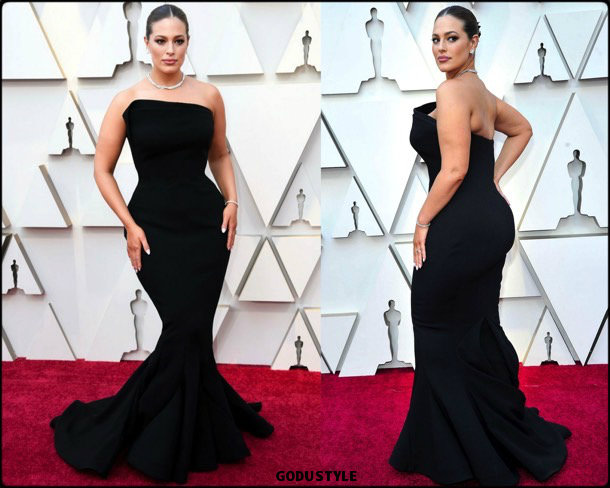 ashley graham, oscar 2019, red carpet, best, fashion, look, beauty, style, details, celebrities, review, alfombra roja