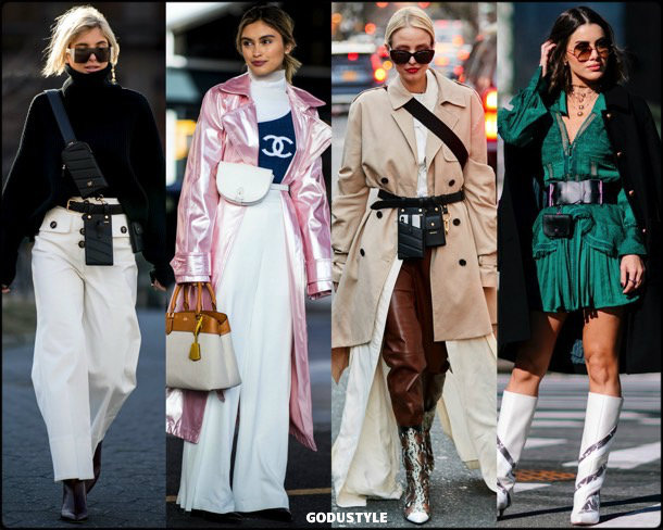 belt bag, fashion, influencers, street style, nyfw, fall 2019, trends, look, details, tendencias, bolsos, moda