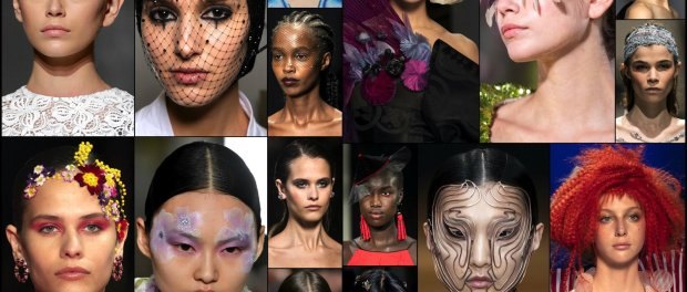 beauty, look, makeup, belleza, maquillaje, couture, spring 2019, verano 2019, style, details, trends, tendencias