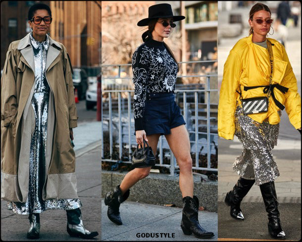 cowboy boots, fashion, influencers, street style, nyfw, fall 2019, trends, look, details, tendencias, moda