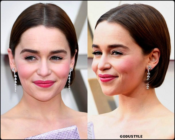 emilia clarke, oscar 2019, red carpet, best, fashion, look, beauty, style, details, celebrities, review, alfombra roja