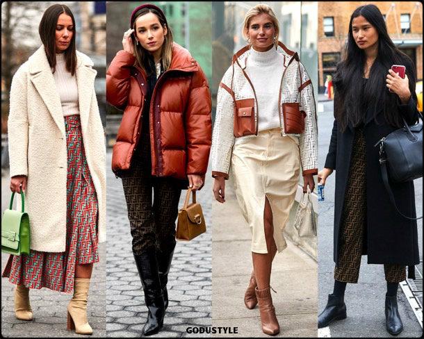 fendi, logo, fashion, influencers, street style, nyfw, fall 2019, trends, look, details, tendencias, moda