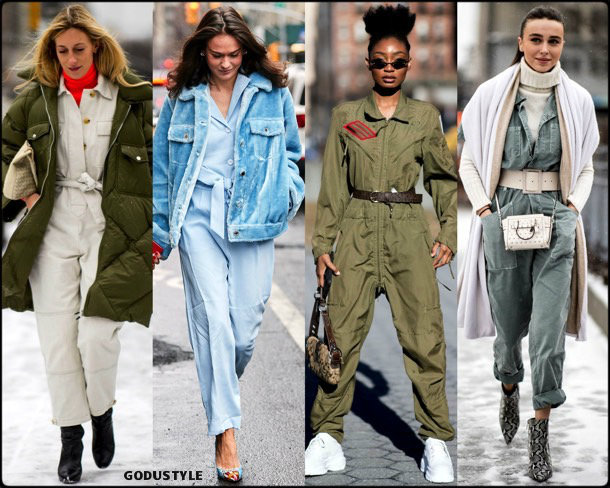 jumpsuit, fashion, influencers, street style, nyfw, fall 2019, trends, look, details, tendencias, mono, moda