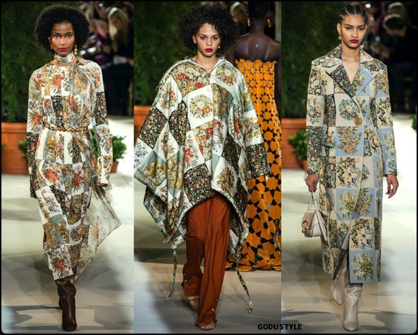 oscar de la renta, fall 2019, invierno 2020, collection, nyfw, look, style, details, shoes, accessories, beauty, review